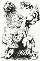 Eddie Brock/Venom - DARK ORIGIN (11x17)