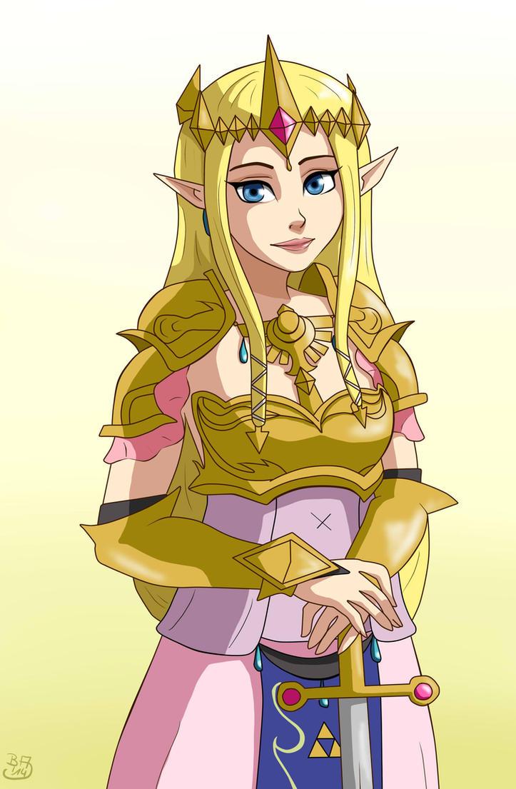 Zelda by BakaArts