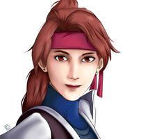 Jessie Rasberry - Final Fantasy VII by BaramArts