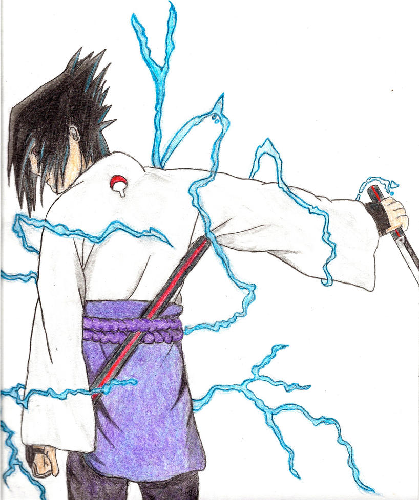 Sasuke Chidori Sword by 00tr on DeviantArt