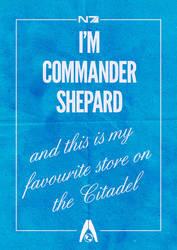 Commander Shepard poster