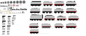 New Engine Sprite parts by Swiftwin4ds