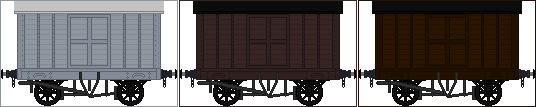 SECR Diagram 1424 Box Vans