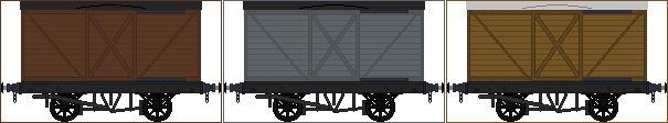 North British Railway box vans