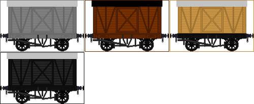 Midland Railway Vans