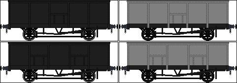 GWR 20 ton coal wagons