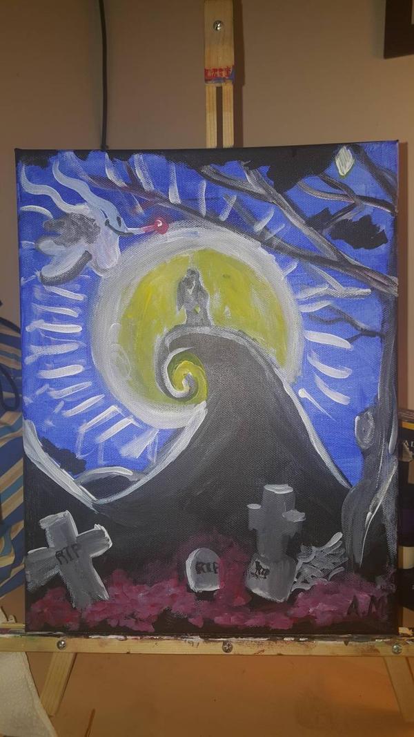 Nightmare Before Christmas By Amandanight2 On Deviantart