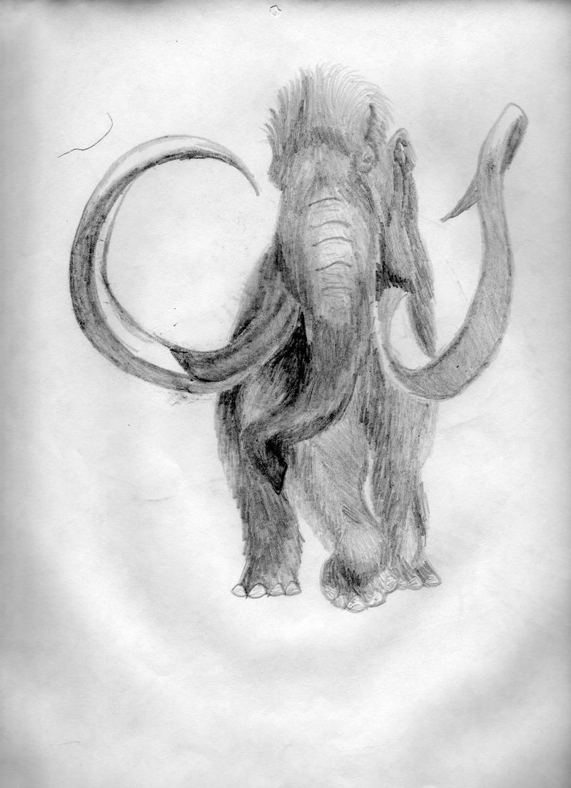 Woolly Mammoth by HWolfer