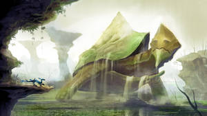 Morla Environment Concept by xvortexbladex