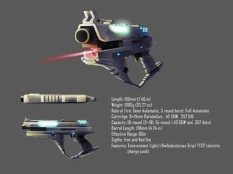 Pistol Concept for Liberico by xvortexbladex