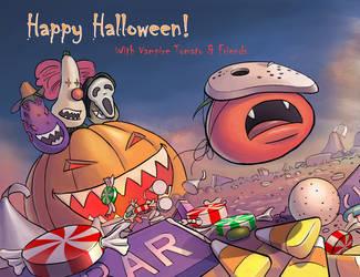 Happy Halloween with the Vampire Tomato by xvortexbladex