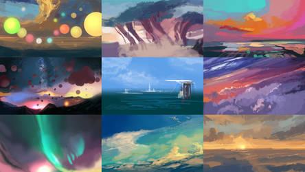 Sky Painter Thumbnails