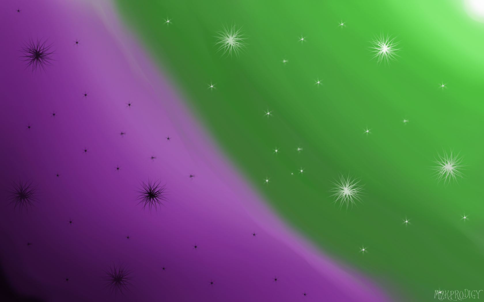 Simple abstract wallpaper green - 954.2KB