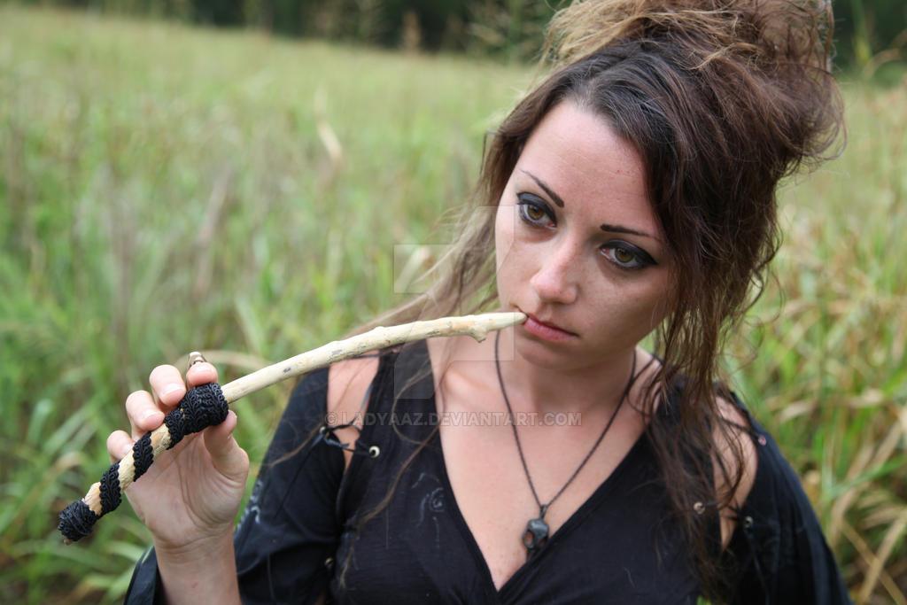 how to make bellatrix lestrange wand