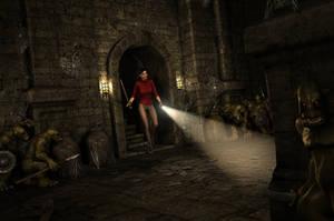CIARA NIGHTINGALE and THE TOMB OF DOOM (CYOA) by MosbyRedux
