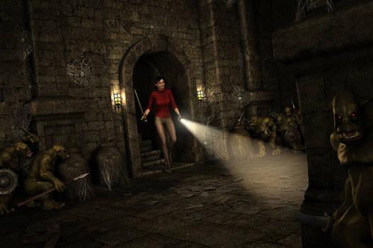 CIARA NIGHTINGALE and THE TOMB OF DOOM (CYOA)