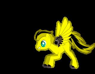 Bumble Bee Pony style