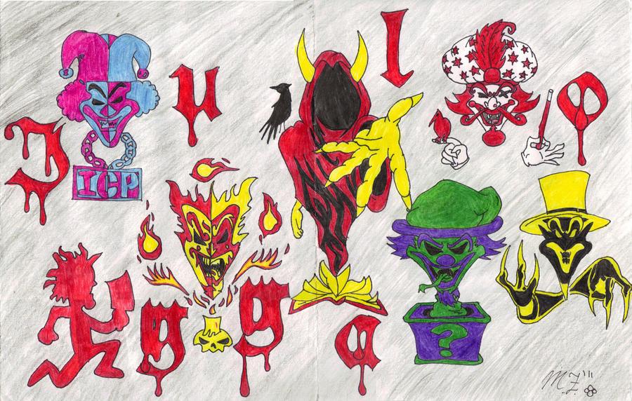 Joker Cards by Mistress-Moon-WolfIcp Joker Card Drawings