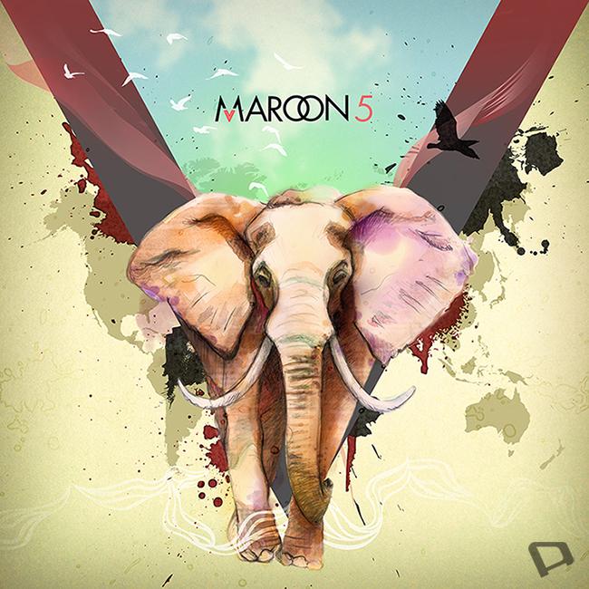 Maroon 5 V by danamorsolo