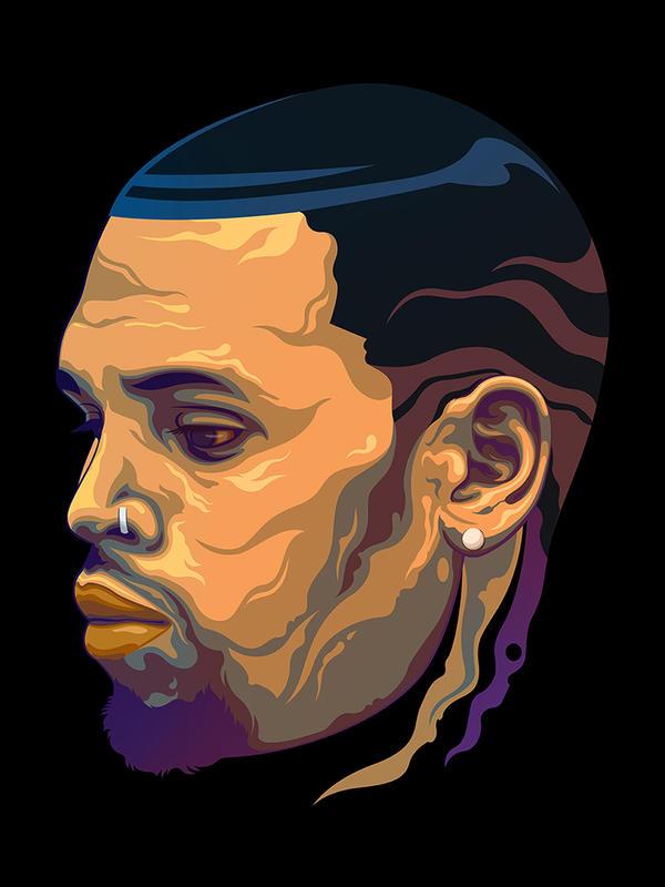 Chris Brown Royalty by danamorsolo