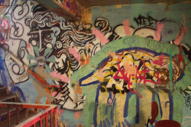 Concrete Caves: Graffiti 10 by Gwynstock