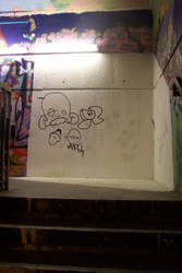 Concrete Caves: Graffiti 11 by Gwynstock