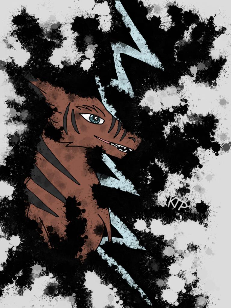 Splatter Kyrie by ktpdragon