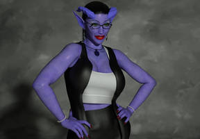 Purple Demon by Nephanor
