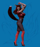 Scarlet Raynard - Reporter by Nephanor