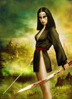 Blood sword by JdelNido