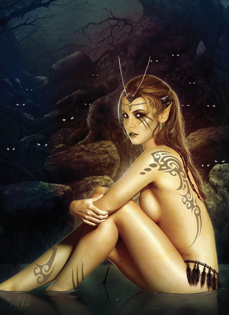 Forest elf by JdelNido