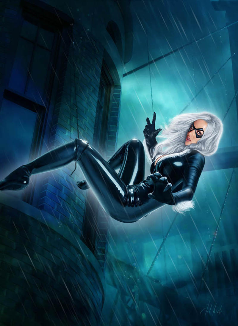 Black Cat by JdelNido