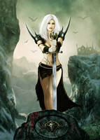 Warrior Queen by JdelNido