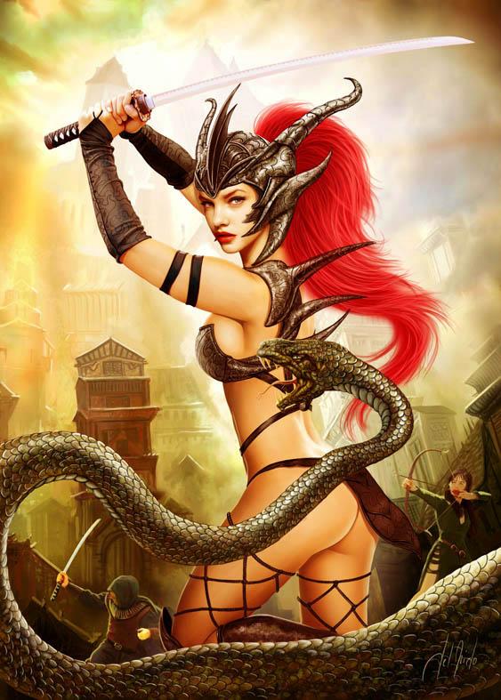 Snake by JdelNido