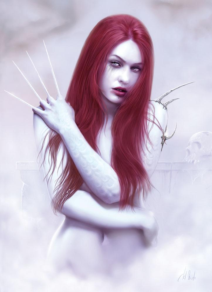 White Vampire by JdelNido