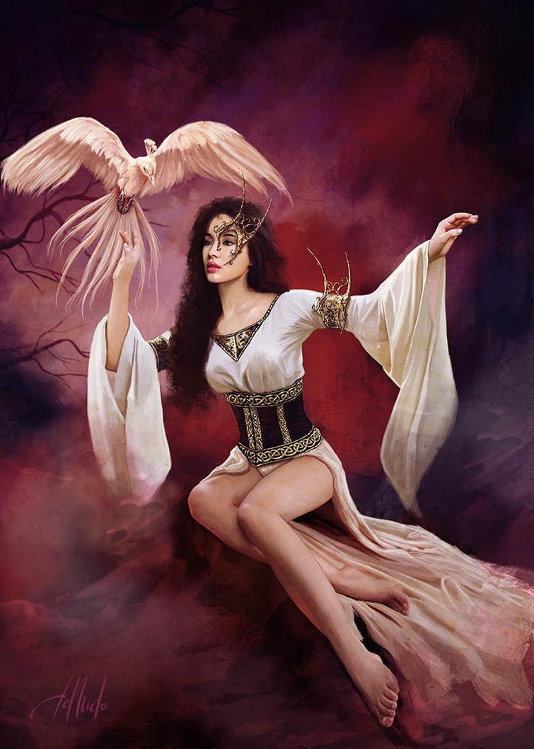 Goddess Of Shedjar by JdelNido