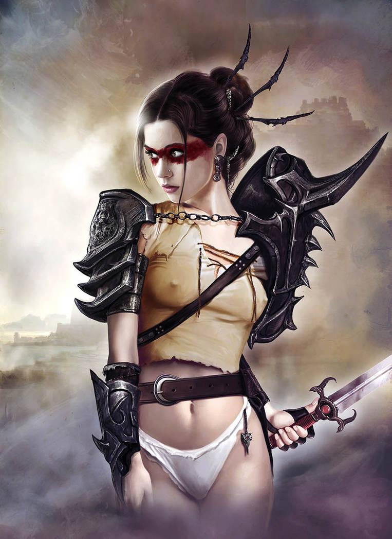 Warrior Serie02 by JdelNido