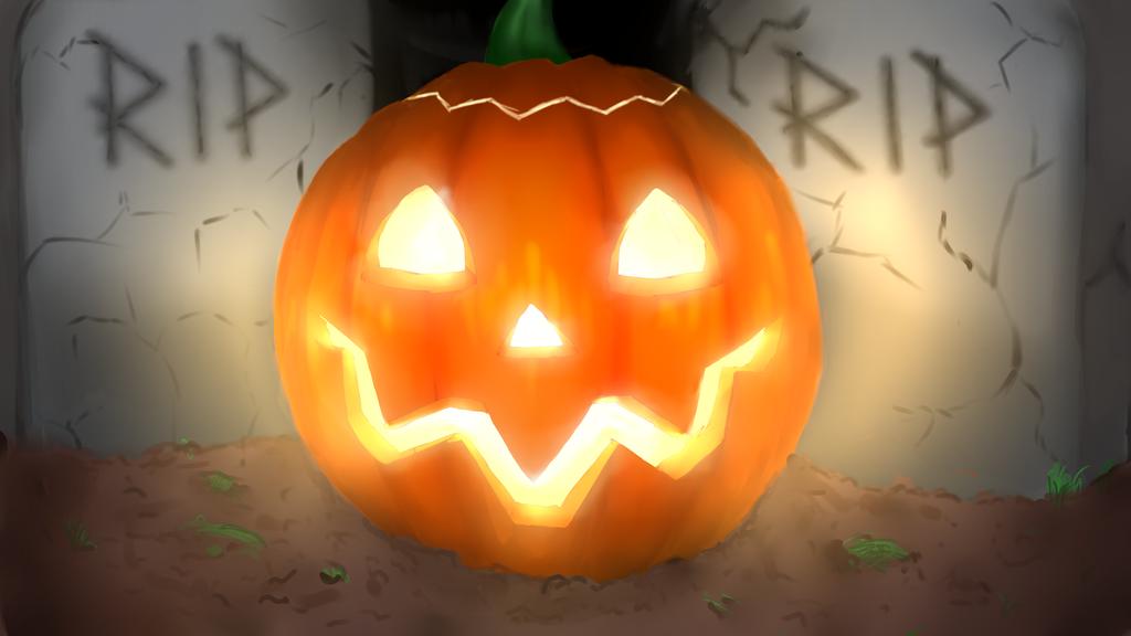 Jack-o-lantern by mijinka