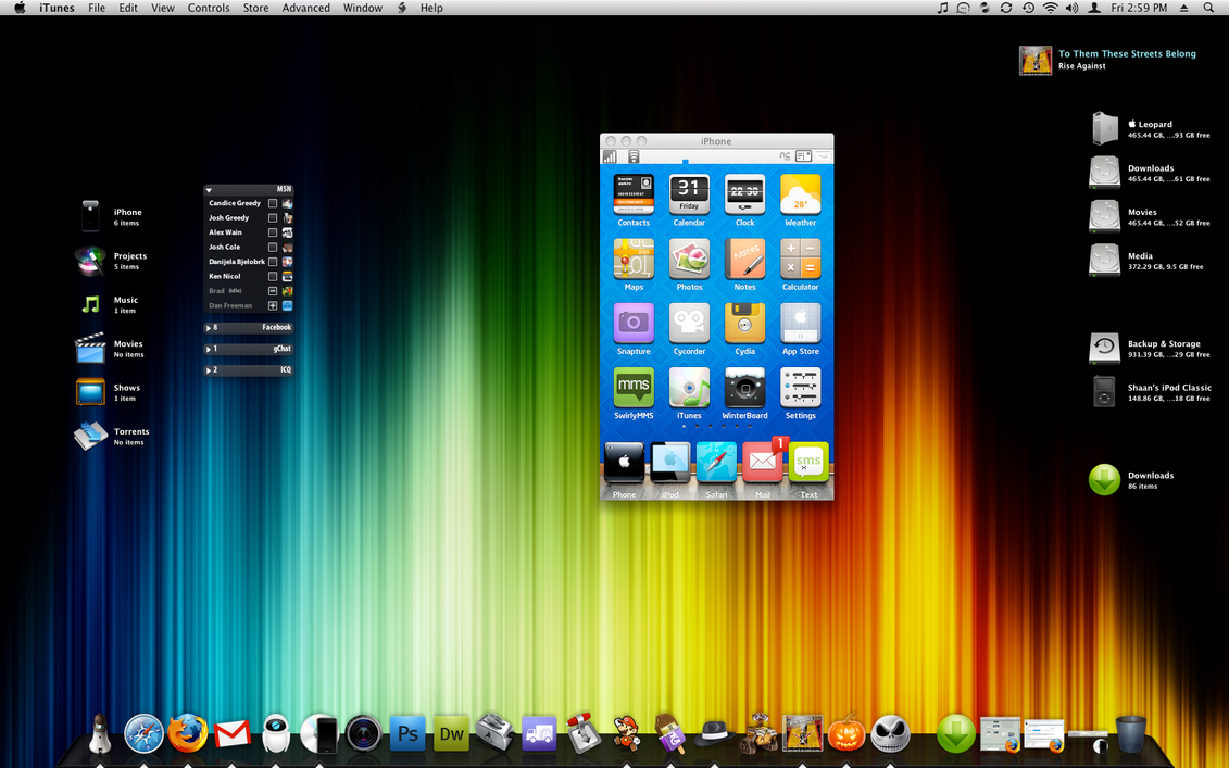 Desktop 31.10.2008 by bigmoose