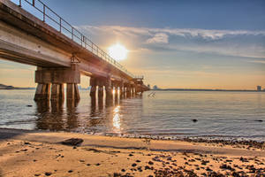 Biloxi Bay Bridge HDR by Vitaloverdose