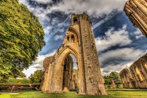 Glastonbury Abbey by Vitaloverdose