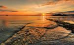 Into the sea by Vitaloverdose