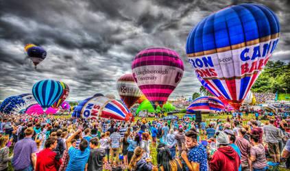 Bristol Baloon Festival 2013 by Vitaloverdose