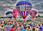 Bristol Balloon Festival 2013 daytime