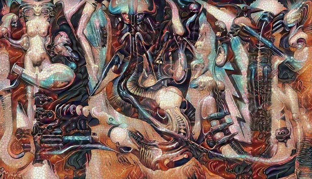 Giger Fresco 4 by Vitaloverdose