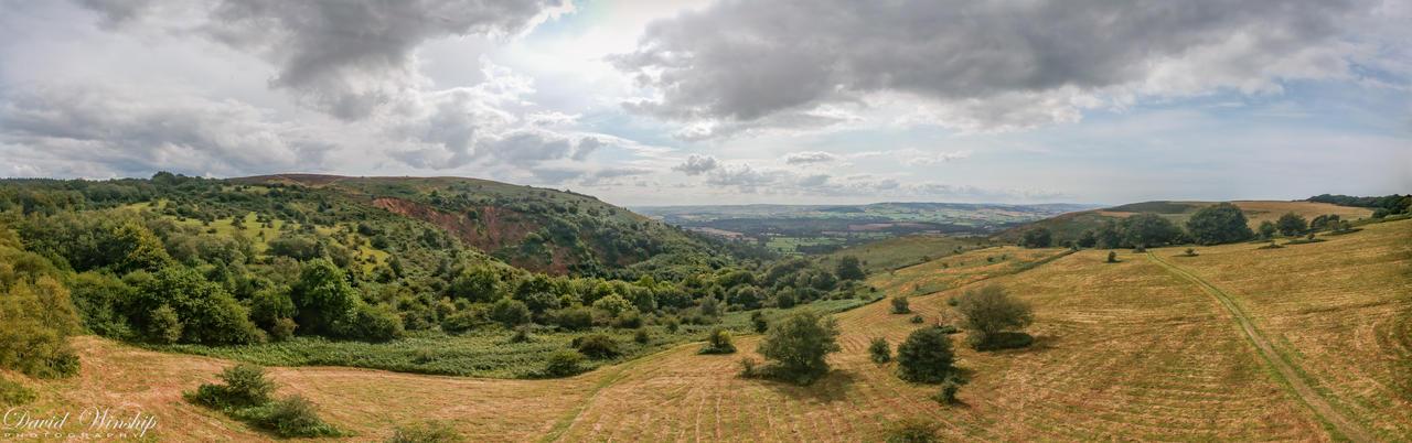 The Quantocks, Mendip hills by Vitaloverdose