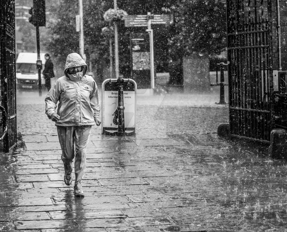 City rain by Vitaloverdose