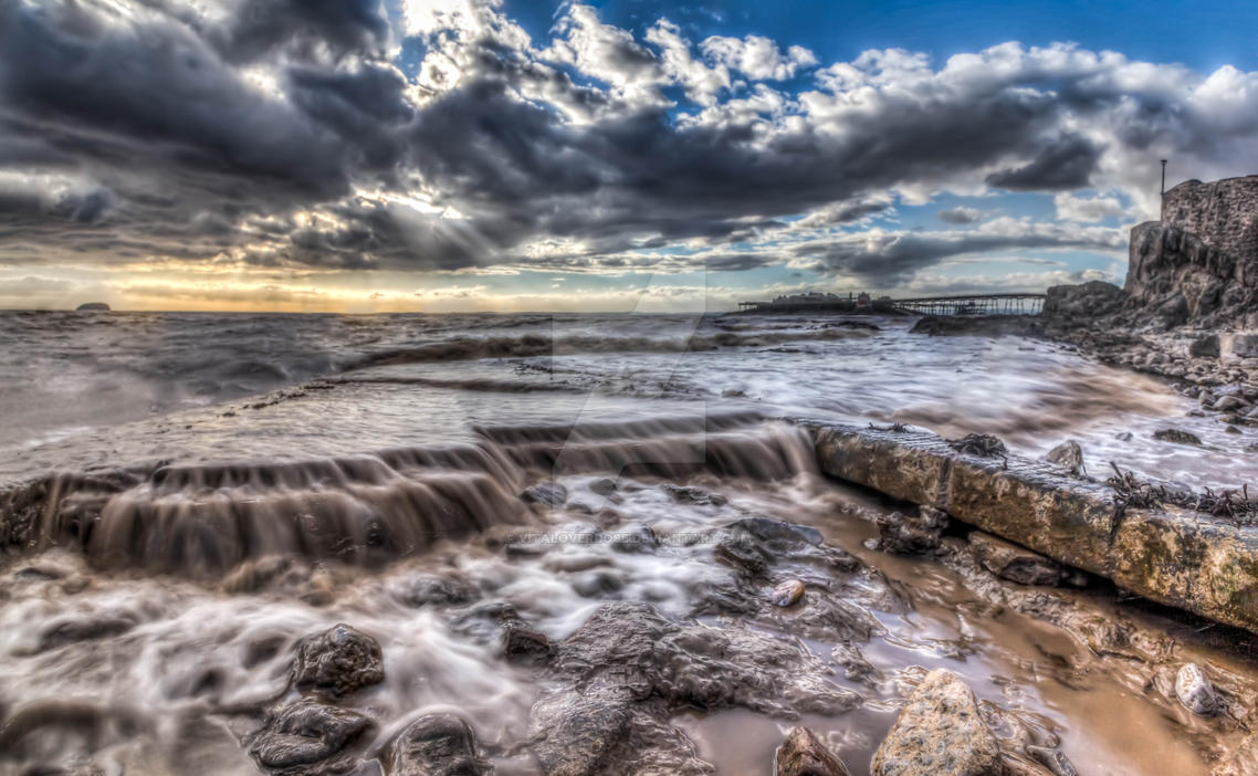 High tide by Vitaloverdose