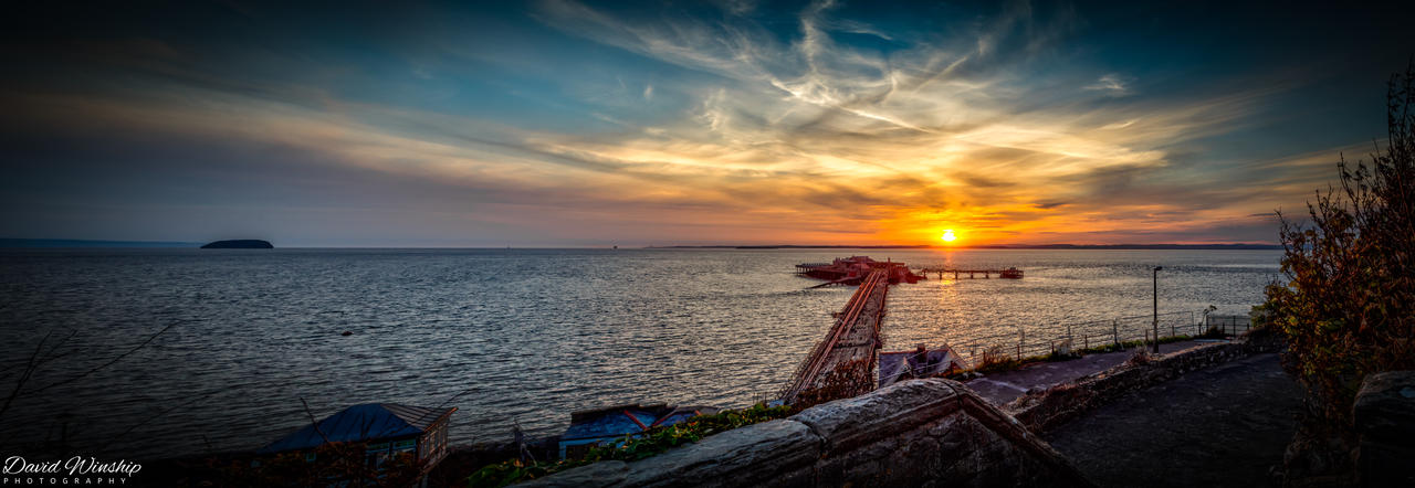 Epic sunset by Vitaloverdose