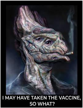 COVID Alien Meme